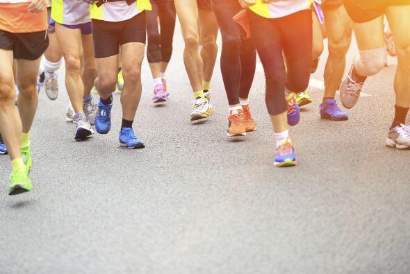 Antes del maratón come carbohidratos ya que al momento de correr con cal...