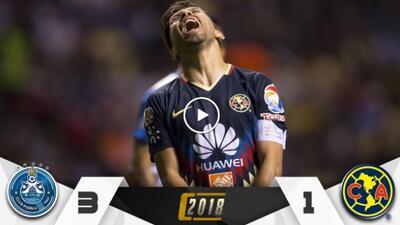 ¡Al América le gusta sufrir! Puebla le dio un baile y peligra su clasificación