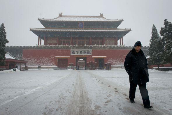 Según informó la Oficina Nacional de Meteorología china (NMO), una decen...
