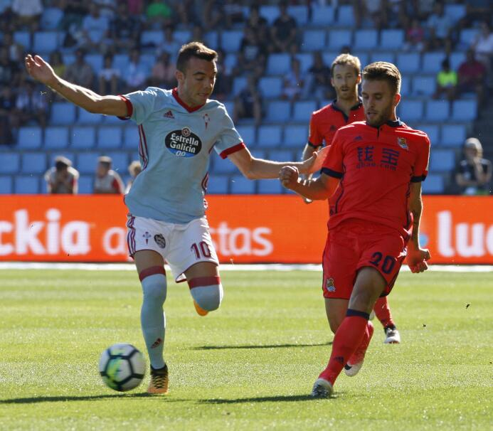 Con Vela, la Real Sociedad remontó y ganó al Celta en Vigo 6363876456479...