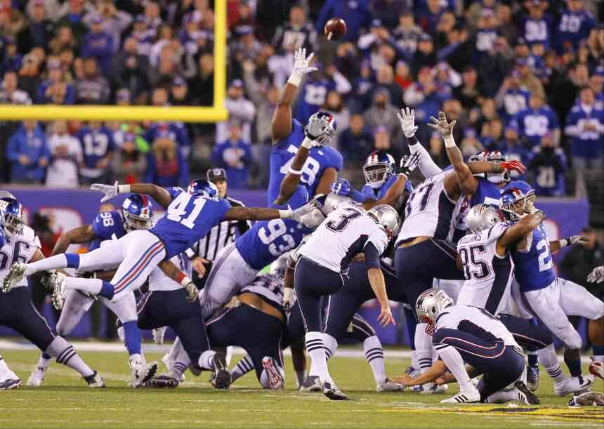 Jugadas clave del partidazo Patriots-Giants
