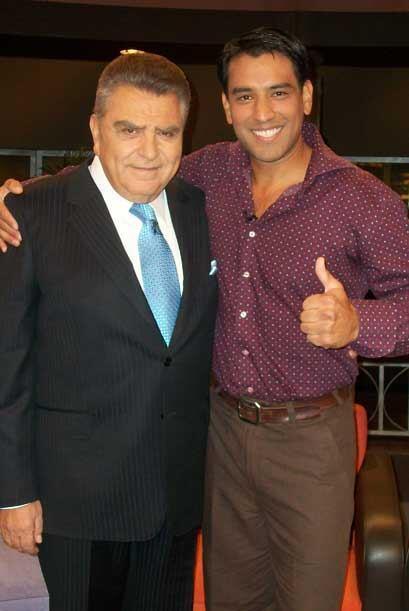 Favio Alejo es el reportero extremo de 'Primer Impacto'.