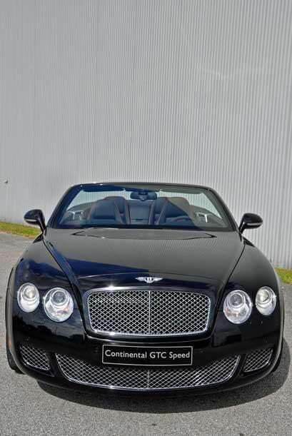 Aunque Bentley permite ordenar sus autos en cualquier color, para este m...