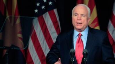 John McCain va por la reelección por el estado de Arizona.