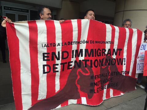 Proinmigrantes en Chicago