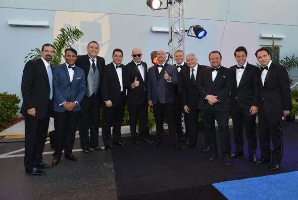El equipo de especialistas deportivos de Univision Deportes Network.