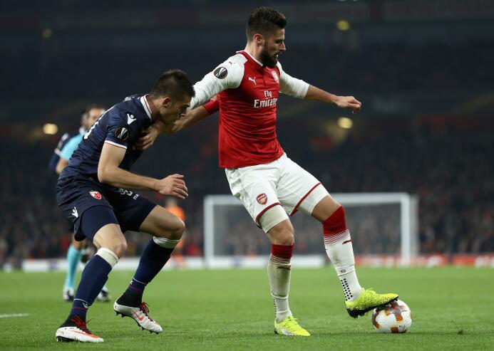 Arsenal 0-0 Estrella Roja: pálido empate en el Emirates Stadium, que man...