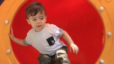 Diego, hijo de Ariadne Díaz y Marcus Ornellas, cumple dos años convertido en una celebridad