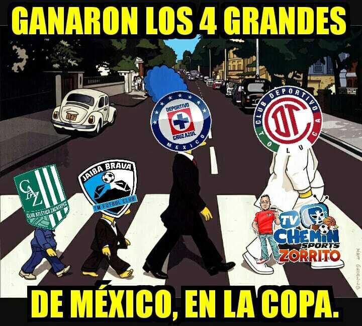 Aunque ganó, Cruz Azul protagoniza los memes en la Copa MX Clausura 2018...