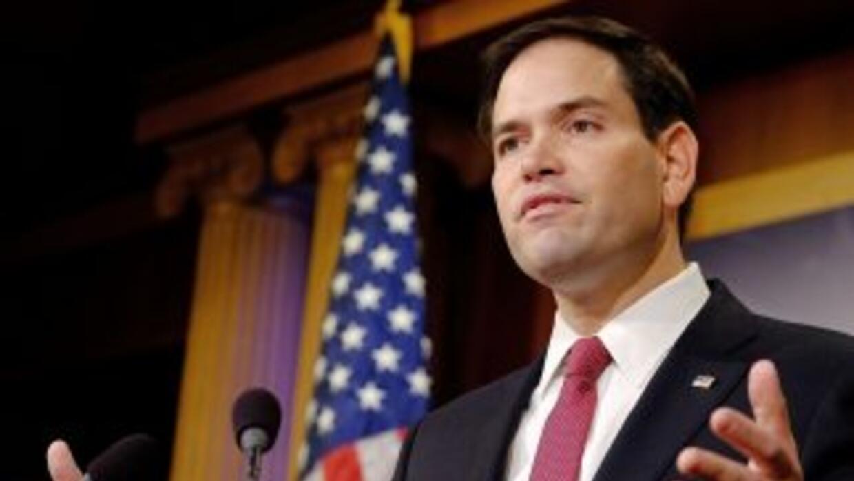 """Marco Rubio: """"No veo nada que vaya a cambiar la situación política dentr..."""