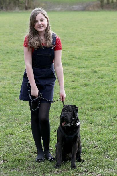 Rebekah Kirby no podía tener un perro cerca, ni de broma, su mied...