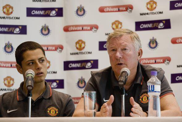 Alex Ferguson, DT del 'Man-U', declaraba que 'la contratación de Hernáde...