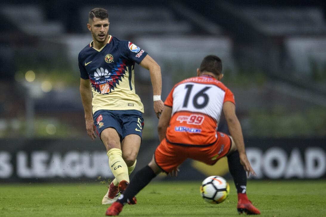 América venció 4-0 a Tauro en la Liga de Campeones de la Concacaf 201803...