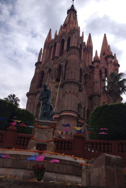 La parroquia de San Miguel Arcángel se ha convertido en un ícono represe...