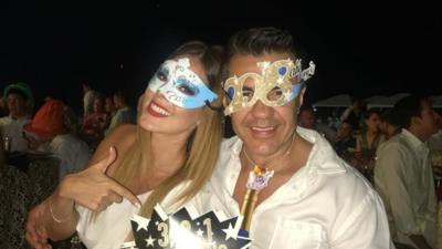 Así fue como El Vitor, Eugenio Derbez, Maribel Guardia y otras estrellas celebraron el año nuevo