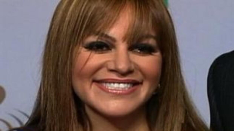 Jenni Rivera en su luna de miel