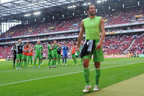 Anotaría los dos primeros tantos en la goleada de su equipo al Hannover 96.