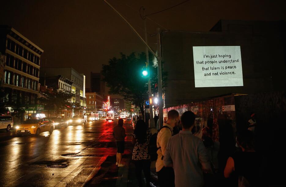 Una de sus tantas citas memorables destacadas en Harlem, Manhattan.