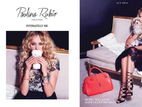 Esta es la campaña publicitaria de su colección Abril 2014...