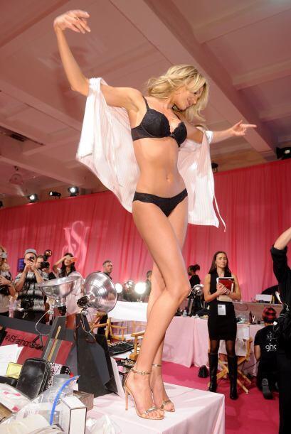 Backstage Victoria's Secret