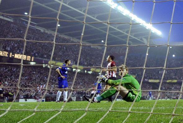 En el minuto 65 el United no pudo aguantar más y recibió l...