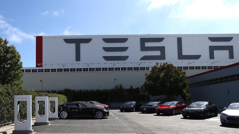 Planta de ensamblaje de Tesla en Fremont, California.