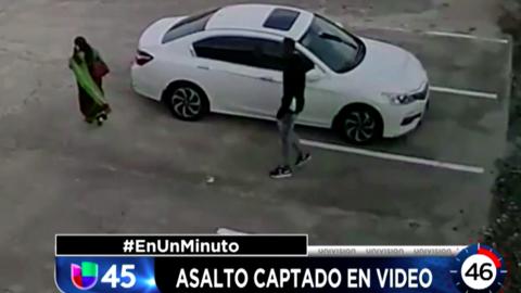 En Un Minuto Houston: Buscan a un sospechoso que fue captado en video mi...