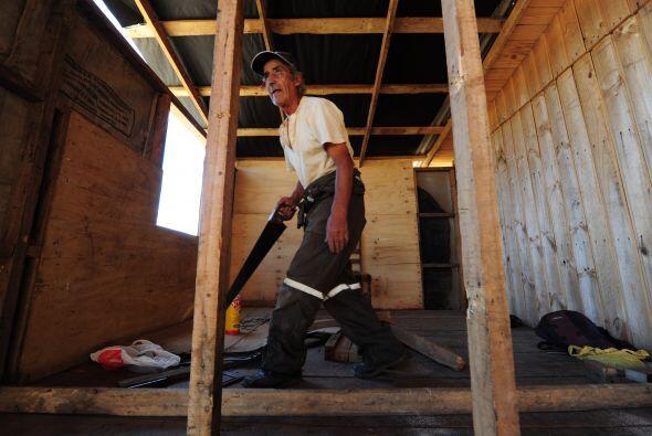 Nicolás Valenzuela, de la ONG Reconstruye, dijo que el proyecto de recon...