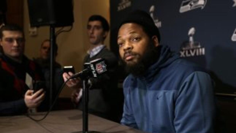 Michael Bennett probará el mercado de agencia libre (AP-NFL).