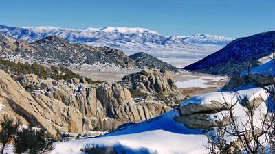 Así se ve el invierno en los parques nacionales de Estados Unidos