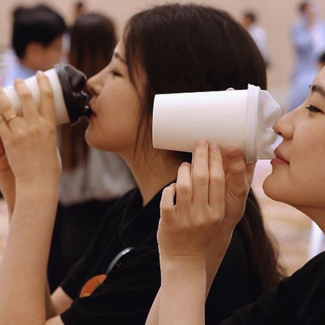 tapa de café besable