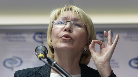 La fiscal Luisa Ortega Díaz huyó de Venezuela a Colombia e...