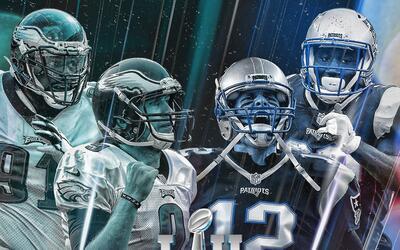 Super Bowl LII Eagles vs. Patriots