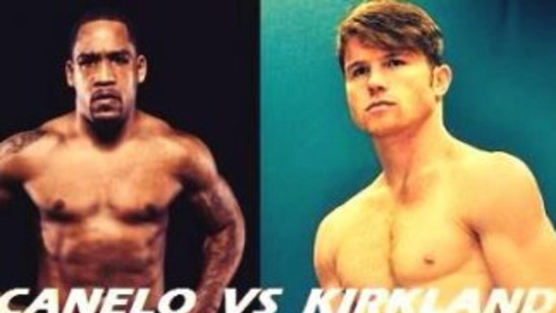 Kirkland contra 'Canelo', foto subida a internet por Canelo Promotions (...