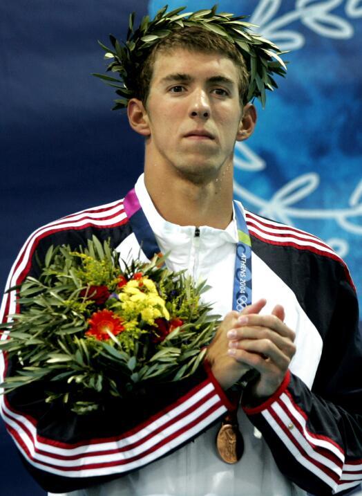 Michael Phelps (Atenas 2004)