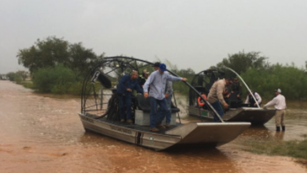 High Water Rescue La Salle County, Texas