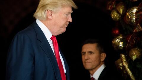 El ex asesor de Seguridad Nacional Michael Flynn se declaró culpa...