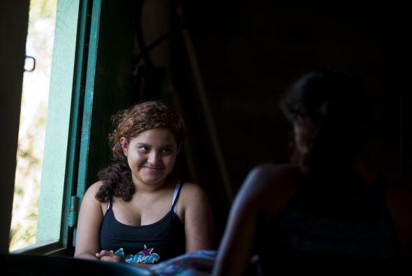 Por su parte, Fátima, su hija de 14 años, dijo estar ansio...