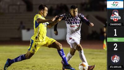El Atlético de San Luis se puso en semifinales al vencer a Cimarrones