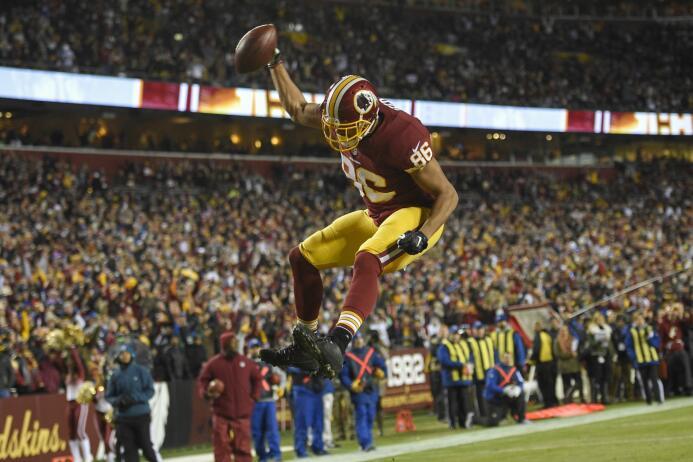 3. Jordan Reed | Washington RedskinsSi se mantiene sano, Reed puede esta...