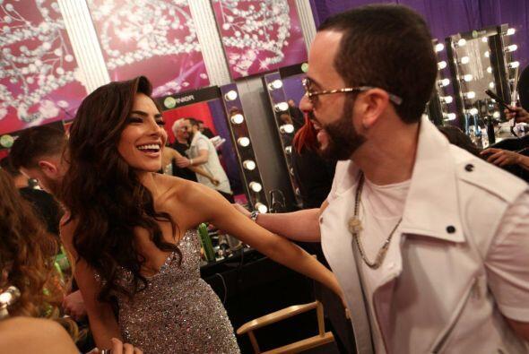 Alejandra y Yandel estuvieron platicando, ¿qué tanto se ha...