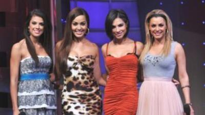 Estas cuatro latinas le dan sabor al sábado.