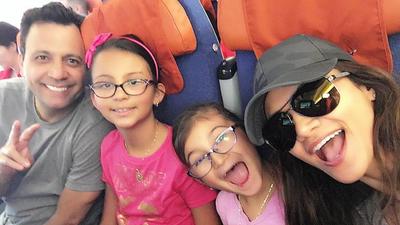 Las mejores 'selfies' de Argelia y su familia en Rusia 🤳🏻