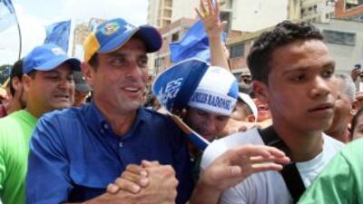 La autoridad electoral de Venezuela llamó la atención al candidato oposi...