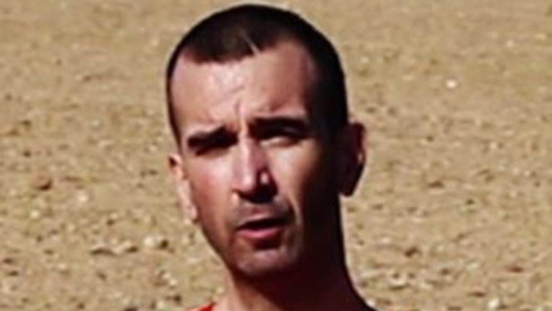 David Haines. (Imagen del video difundido).