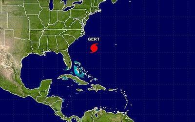 Gert se convirtió en el segundo huracán de la temporada 2017.