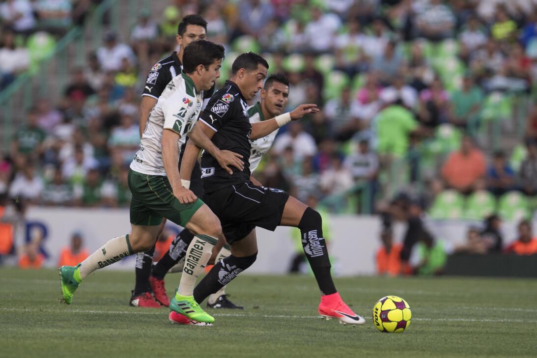 Emocionante empate entre Santos y Monterrey Julio Cesar Furch, Ulises Ri...