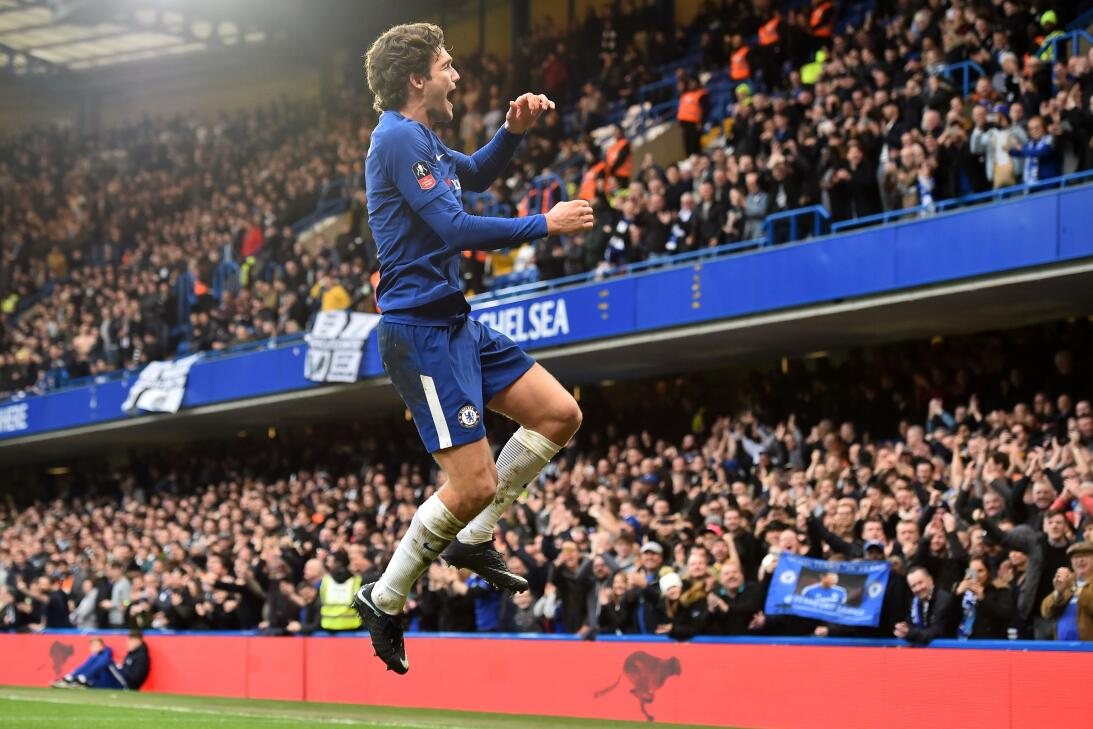 Con goleador 'sorpresa', Chelsea pasó a octavos de final en FA Cup al ve...