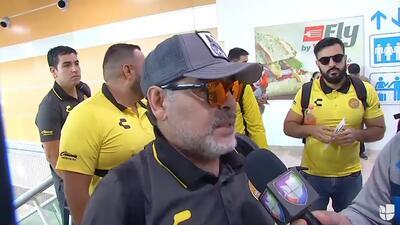 EXCLUSIVA | Maradona ya se siente mexicano y hasta le pide favores a la Virgen de Guadalupe