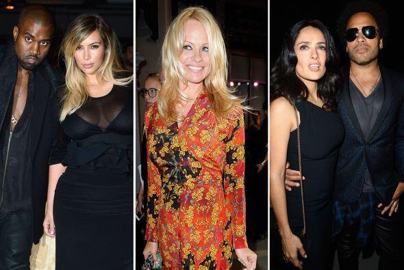 Desde Lenny Kravitz muy cariño con Salma Hayek hasta Katy Perry y Pamela...